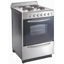 Cocina Domec Electrica 4 Placas 56Cm Cexg