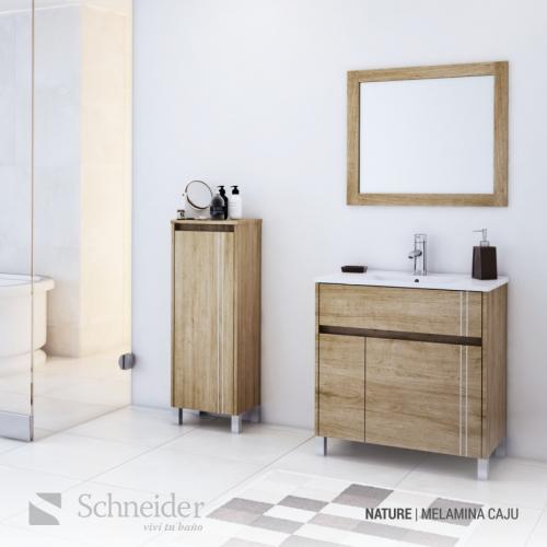Espejo Schneider Em60C 60Cm Caju