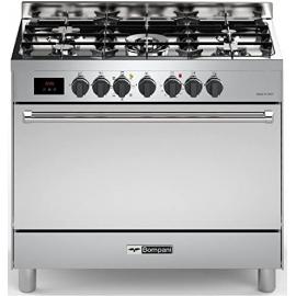Cocina Mixta Bompani 90 Cm Tech Bo683Dd/N