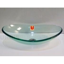 Bacha Urbis Oval Vidrio Transparente Bv Ov47Tr
