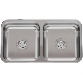 Bacha De Cocina Doble Johnson C37