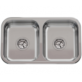 Bacha De Cocina Doble Johnson Cc28