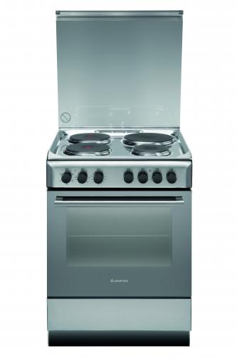 Cocina Electrica Ariston 4 Placas 60Cm A6Esc2Fxex