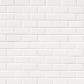 Revestimiento Arren Azulejo 7,5X15 Liso Blanco Mate