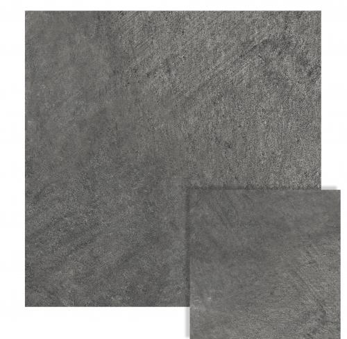 Porcelanato Vite 80X80 Materia Black Pulido