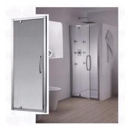 Puerta Pivot C/Vidrio Transparente Np70A