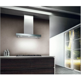 Campana De Pared Spar Crystal/Stilux Inox 3482 - 163
