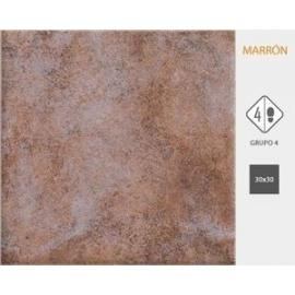 Ceramica Cortines 30X30 Rustico Marron