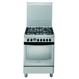 Cocina Ariston Mixta 4 Hornallas 60 Cm Cx660Sp6(X)Ag