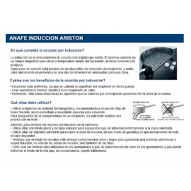 Anafe Elelectrico 4 Zonas Vitro Ariston Nia640B