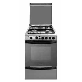 Cocina A Gas Ariston 4 Hornallas 55 Cm Cg54Sg1M(X)