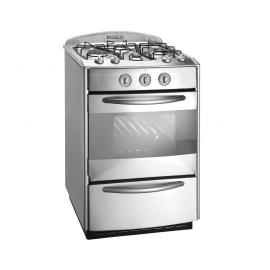 Domec Cocina Next Line Ii Multigas Acero Inox Cxnnv