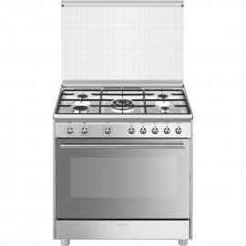 Cocina Mixta Smeg Electrica Y A Gas Sx91M9 - Ar