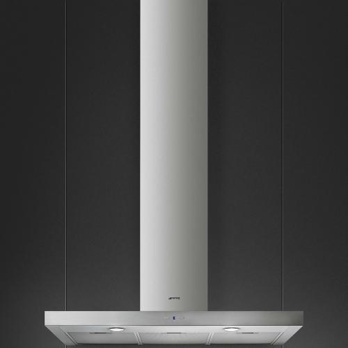 Campana De Pared Smeg 90 Cm Acero Inox Kat900Hxe - Ar