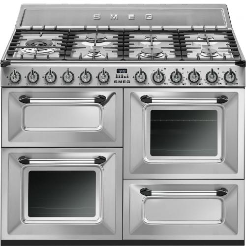 Cocina Mixta Smeg 110Cm Inoxidable Tr4110X