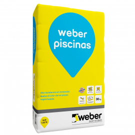 Adhesivo Col Piscinas Weber X 30Kg